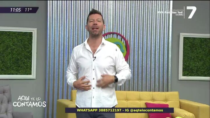 ¡Aquí te lo contamos en vivo por Canal 7!