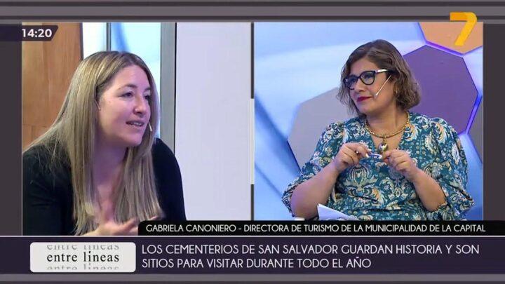Entre Líneas (18/10/21) – Nos visita Gabriela Canoniero – Dir. de Turismo de la Municipalidad