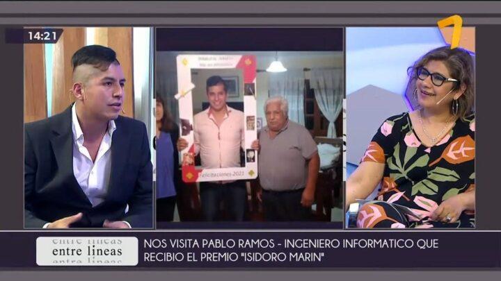 Entre Líneas (20/10/21) – Nos visita Pablo Ramos – Ingeniero Informático | Canal 7 Jujuy